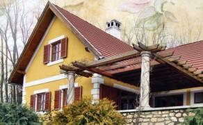 Borkereskedö háza a Badacsonyon