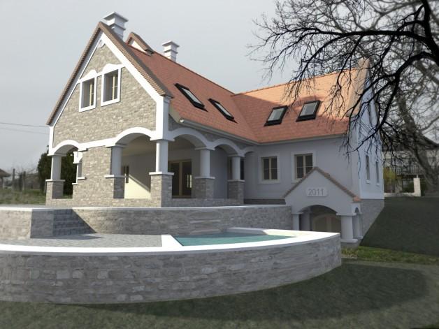 Szigligeti lakóház
