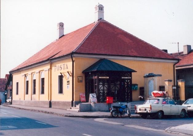 Tihanyi posta rekonstrukció