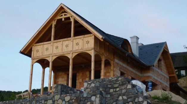 Új lakóház a Badacsonyon