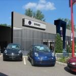 Chevrolet Gyulai homlokzati felújítás (2006)